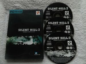 SILENT HILL 2 DIRECTOR'S CUT PC-CD ( action/adventure & survival horror game )