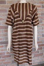 Unusual Vintage Tunic Dress w/ Trangular Bib ~ Size 10 / 11