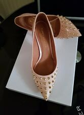 Kurt Geiger London- Nude/ Pink Rockstud Shoes- Size Uk4/ 37