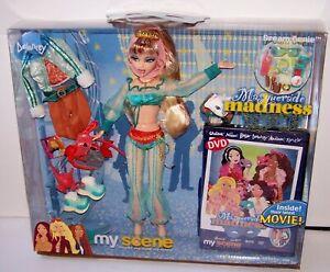 Mattel My Scene Masquerade Madness Delancey Dream Genie Real Eyelashes DVD