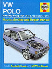 Volkswagen Polo (90-94) Service and Repair Manual by A. K. Legg, Spencer Drayton