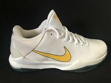 Nike 2010 OG Basketball Zoom Kobe Rice V 5 White Size 10.5 New OG Box Mamba Rare