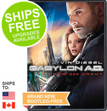 Babylon AD (DVD, 2009, Widescreen Unrated Extended Cut) NEW, Vin Diesel