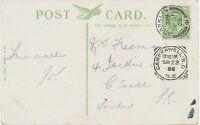 "GB ""CAMBERWELL-S.O / S.E / 1"" (LONDON) rare Squared Circle Postmark III D-I CT"