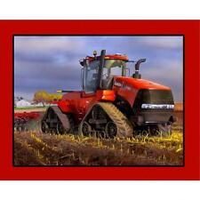 case ih 500 verfolgten traktor 100% baumwolle quilting fabric 110cm x 90cm