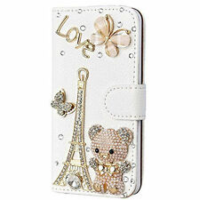 Jewelled Wallet Case for Apple Mobile Phones and PDAs