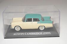 . ALTAYA IXO AUSTIN CAMBRIDGE 1959 GREEN WITH CREAM MINT BOXED