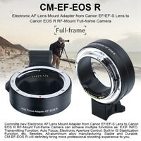 Commlite Auto Focus Lens Mount Adapter Ring Fit for Canon EF/EF-S to EOS R RF