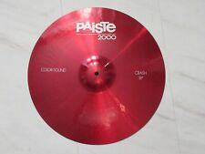 "Paiste 2000 Colorsound 18"" Crash cymbal coloursound 2002"