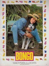 1994 Liv Tyler for Bongo Jeans : Alaskan Husky Magazine Print Ad