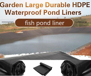 Fish Pond Liner Pools Gardens PVC Membrane Reinforced Landscaping Cover 3x10 m