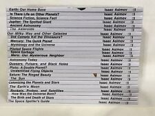 25 Isaac Asimov Library Of The Universe Books, Hard Cover Lot, Science, Nice!