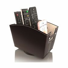 Remote Control Holder Caddy Bedside Organizer   Nightstand Storage Desk Acces...