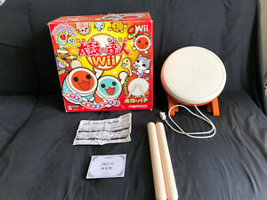 Nintendo Wii Taiko No Tatsujin Drum Controller Retail Box From Japan Sex NO GAME