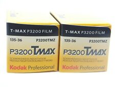 2 x KODAK TMAX P3200 35mm 36 Exp CHEAP B & W FILM By 1st CLASS ROYAL MAIL