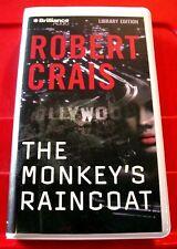 Robert Crais The Monkey's Raincoat Elvis Cole/Joe Pike 4-Tape Audio David Stuart