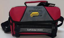 PLANO WEEKEND 3500 SERIES FISHING TACKLE TOOL BOX BAG RED~2 FREE STORAGE BOXES!
