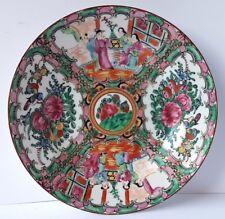 ASIATIKA Porzellan Teller, handbemalt, China, um 1920 - 1930 AL1056