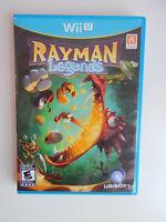Rayman Legends Game in Case! Nintendo Wii U