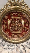Reliquaire Dans Cadre Bronze Louis XVI