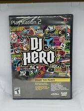 DJ Hero PS2 (Sony PlayStation 2, 2009)(Game ONLY)~Brand NEW Sealed