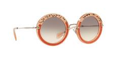 New Miu Miu Womens Sunglasses MU08RS TV14K0 49MM  Pink w/ Grey Lens Fast Ship