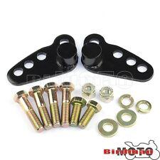 "1""-3"" Rear Adjustable Lowering Kit For Harley Electra Glide FLHT Road King FLHR"