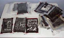 HUGE STACK of Vampirella Harris comic book production art negative artwork pages