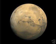 Planet Mars from Viking 1 Outer Space Glossy 8 x 10 Photo Picture #v1