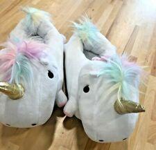 Smoko Cute Kawaii Cute Plush Unicorn Adult Slippers Warm Feet Display Item