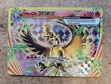 Pokemon Ho-Oh Break XY154 Black Star Promo Card (Normal/Regular Size)