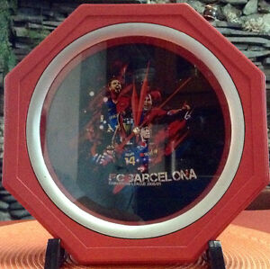 FC BARCELONA FOOTBALL Memorabilia Collectors' Wall Clock