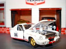 """1965 FORD SHELBY GT 350 LIMITED EDITION """"COCA-COLA"""" RACE CAR 1/64 M2  HOT!!"""