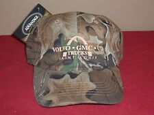 NEW ADVANTAGE CLASSIC CAMOUFLAGE HAT CAP / VOLVO GMC UD ST LOUIS ONE SZ SNAPBACK