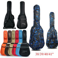 "38/39/40/41"" Waterproof Folk Acoustic Guitar Gig Bag Soft Case Guitar Backpack"