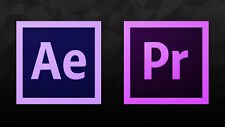 ADOBE PREMIERE PRO + AFTER EFFECTS CC 2017 Full Perpetual version - WINDOWS/MAC