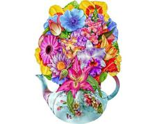 200pc Wentworth Wooden Jigsaw Puzzle - Exotic Flowers
