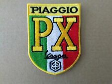 VESPA PX SHIELD STYLE SEW OR IRON ON  PATCH