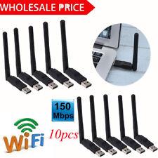 Mini Wireless USB WiFi Adapter Network LAN Card 802.11b/g/n 2dbi Antenn LOT SALE