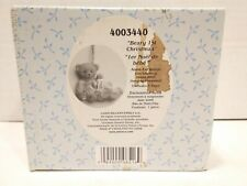 Vintage Rare Cherished Teddies 4003440 Baby Girl 1st Christmas H 00006000 anging Ornament