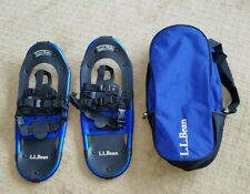 """Ll Bean Winter Walker 22"""" Snowshoes Snow Shoes in Carry Bag Never used"""