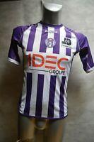 MAILLOT KAPPA TFC TOULOUSE  FOOT TAILLE 13/14 ANS VEST/GIACCA/CHAQUETA JERSEY