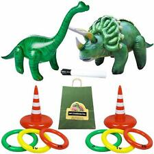 Jet Creations Dinosaur Game Inflatable Ring with Gift Bag Jc-D2040. Brachiosaurs
