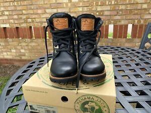 Panama Jack 03 Igloo Boots Size UK6 EUR39 Worn Once Black Leather Waterproof