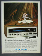 1969 Pioneer SX-1500TD Stereo Receiver color photo vintage print Ad