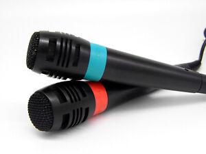 SingStar Mikrofone inkl. USB Konverter Sony PlayStation PS PS2 PS3 Karaoke