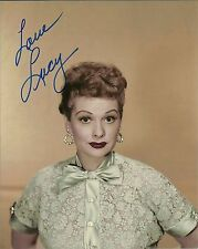 Lucille Ball Signed 8x10  Photo I Love Lucy
