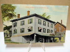 1915 Postcard Page and Bryer Grocer's Winterport Maine ME