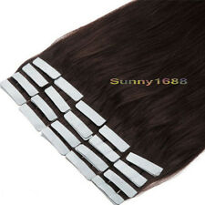 Tape In Remy Human Hair Extensions 16''18''20''22'' 20-80pcs Malaysian Brazilian