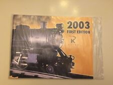 Lionel K-Line Catalog 2003 First Edition unopened